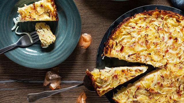 Klassischer Zwiebelkuchen: So leicht geht es