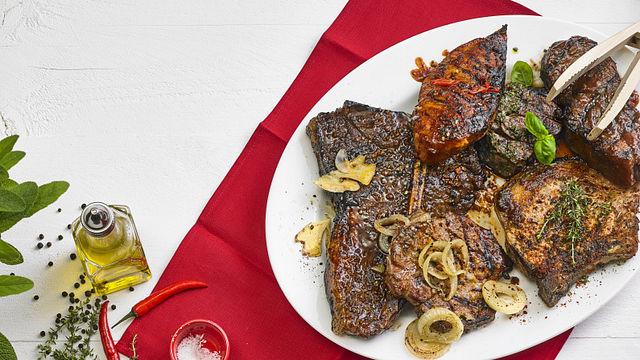 Würzige Marinaden für Grillfleisch