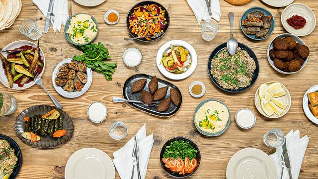 Für Gäste: Köstliche Mezze aus der Levante-Küche