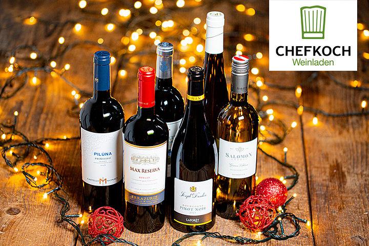 Weihnachtliches Weinpaket