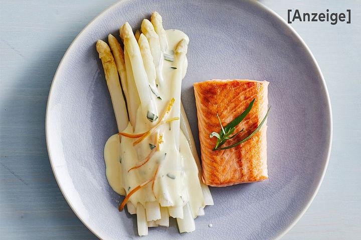 Frühlings-Fischgerichte mit Spargel
