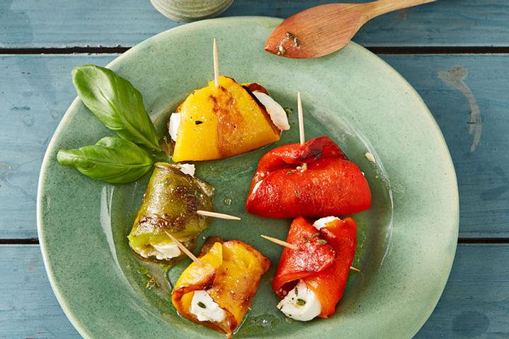 Fingerfood mit frischem Gemüse