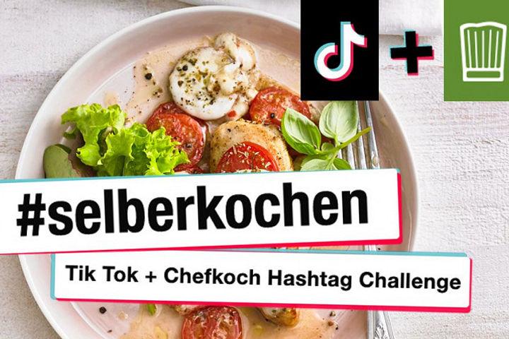Chefkochs große TikTok-Challenge