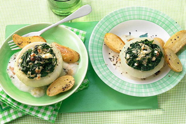 Vegetarische Rezepte mit Spinat