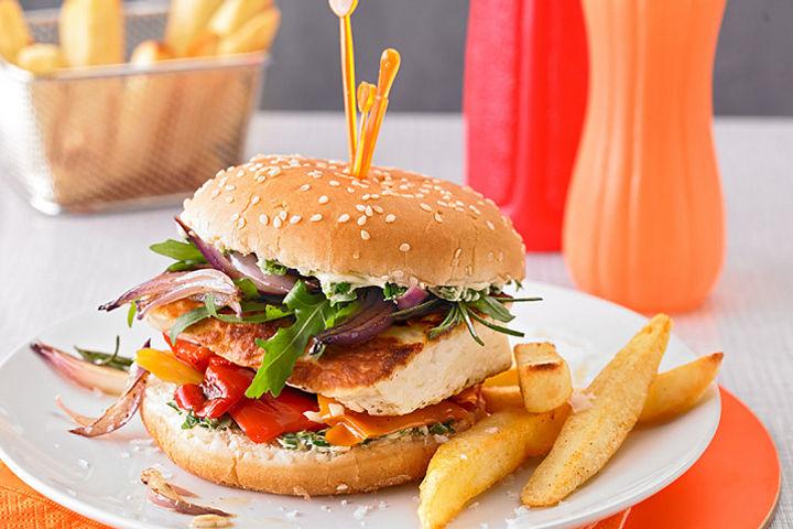 Top 50 Veggie-Burger