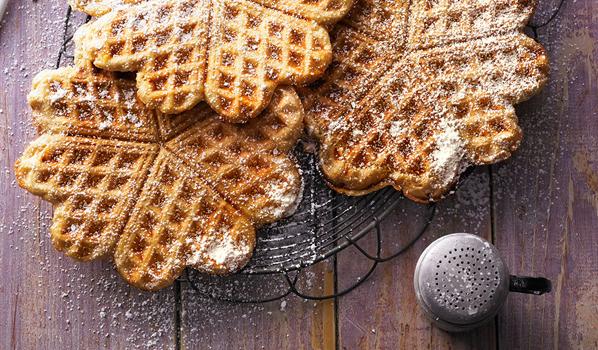 Backen rezepte waffeln