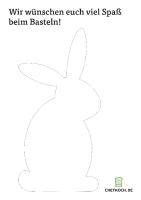 Hasen-Schablone