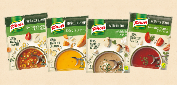 Knorr Suppensortiment