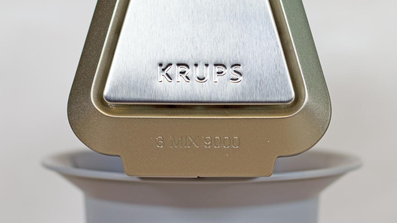 Verarbeitung des Krups 3 Mix 9000 Deluxe Handmixer