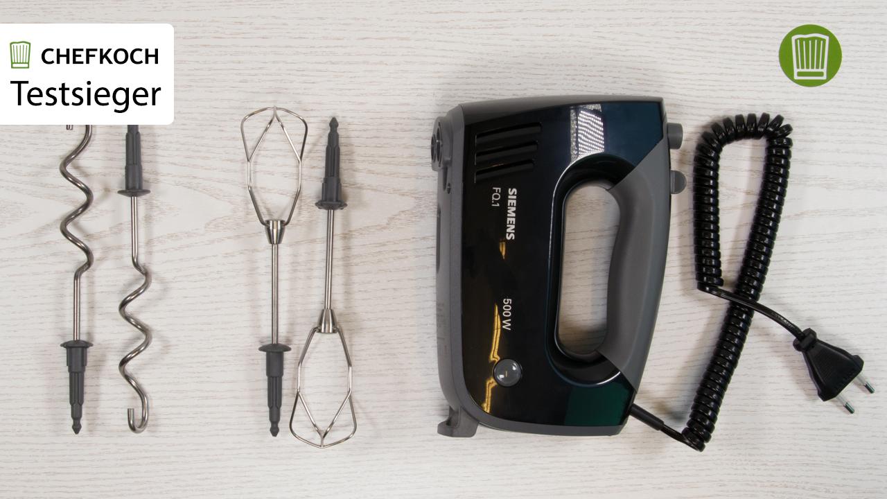 Unser Handmixer Testsieger: Der Siemens Ergonomic Edition FQ.1