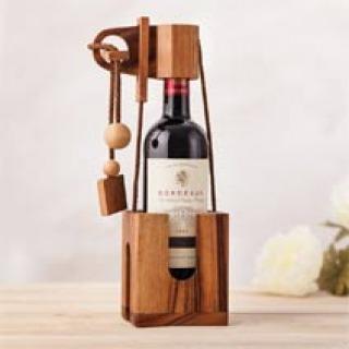 Weinflaschen-Puzzle