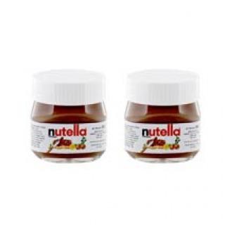Mini-Nutella-Gläser