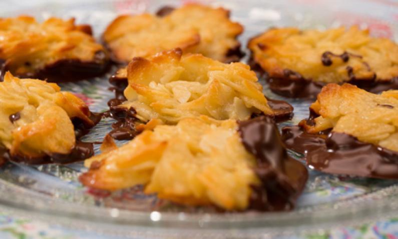 Florentiner Weihnachtsplätzchen.Florentiner Knuspriges Mandelgebäck Chefkoch De Video
