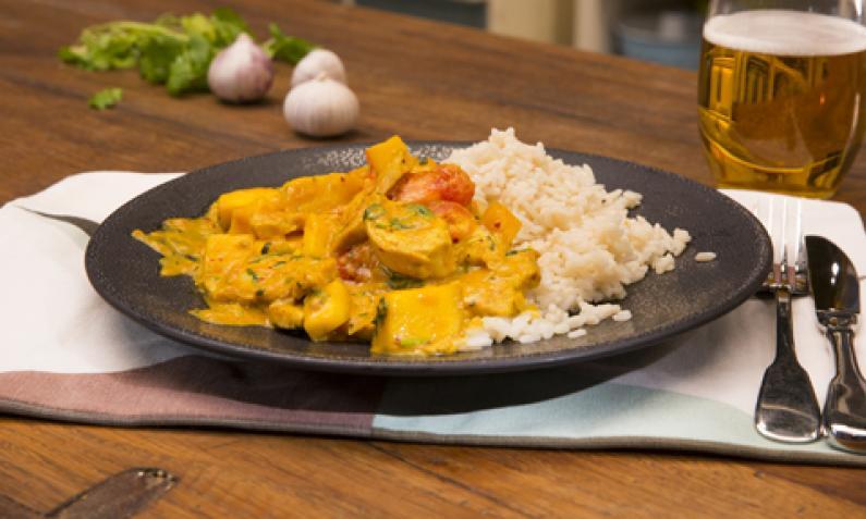 Sommerküche Hähnchen : Brasilianisches hühnchen mit kokosmilch und mango chefkoch.de video