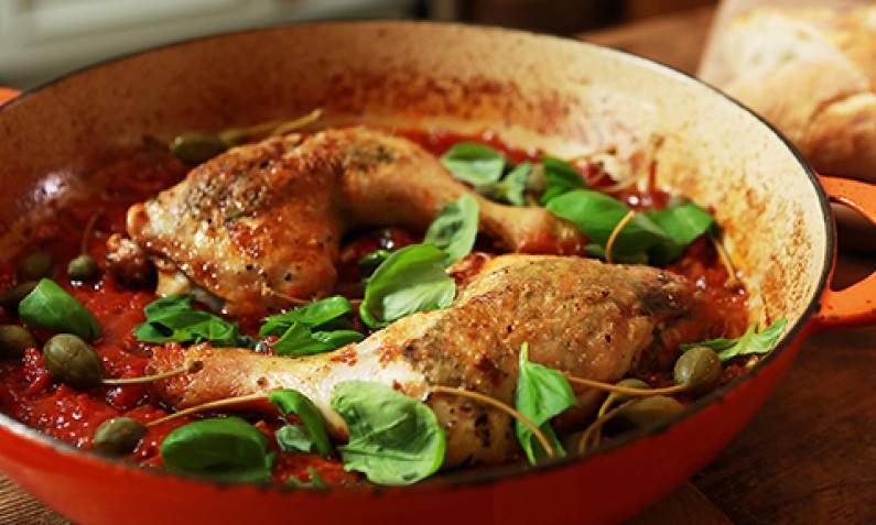 Hähnchenschenkel auf italienische Art | Chefkoch.de Video
