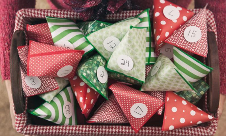Weihnachtskalender Zum Selber Machen.Adventskalender Selbst Gemacht Basteln Kochen Und Verschenken