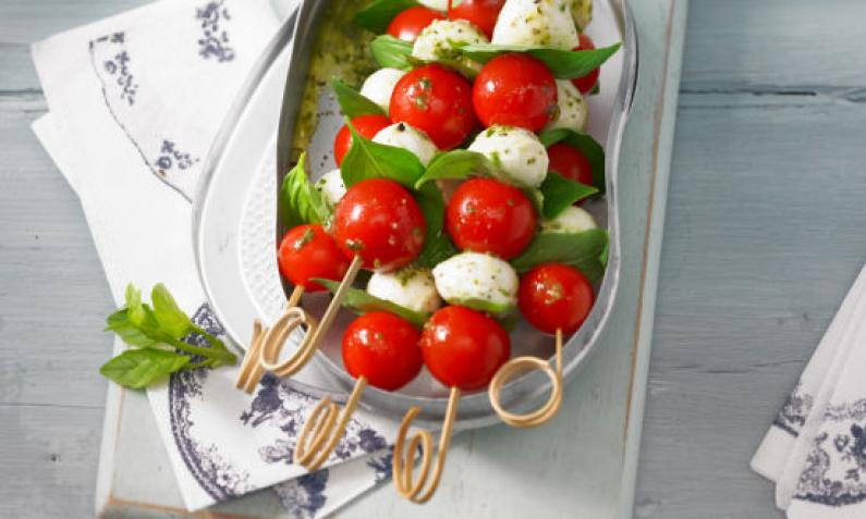 Mozzarella Spieße