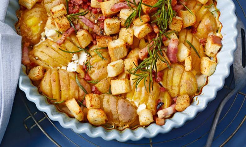 Schwedische Kartoffeln aus dem Ofen