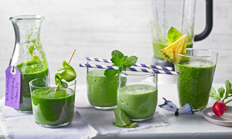 Rohe Grünkohl Smoothie Vorteile