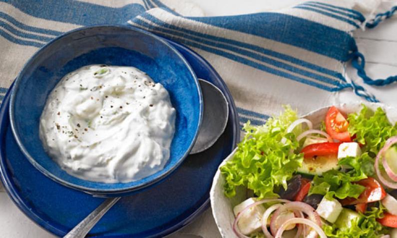 Zaziki: Griechischer Dip