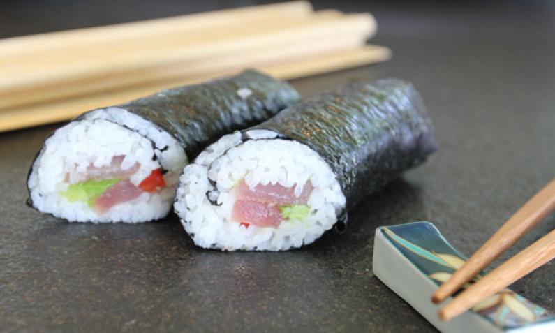 Sushi aus Nori