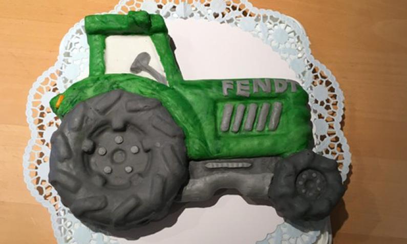 Traktor-Kuchen von jo_293