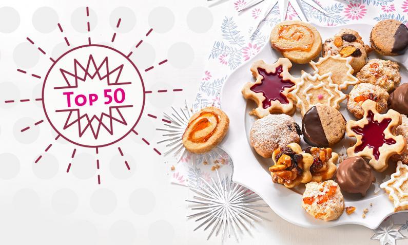 Alte Weihnachtsplätzchen Rezepte.Top 50 Weihnachtsplätzchen Vanillekipferl Zimtsterne Co