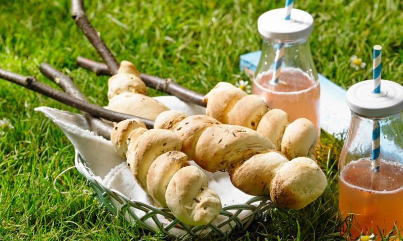 Stockbrot backen – Back to the Roots