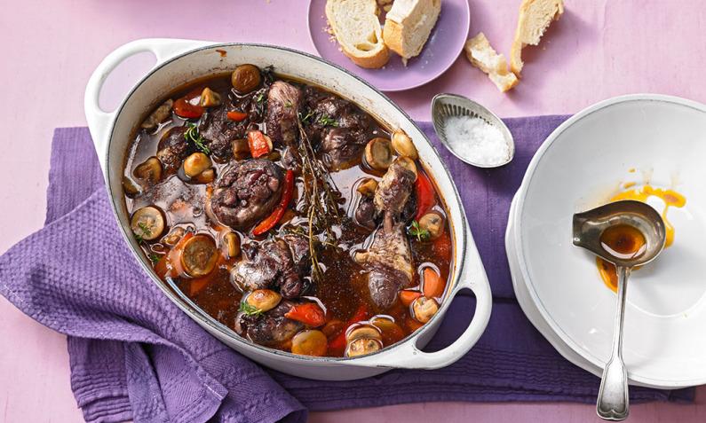 Lamm franzosische kuche