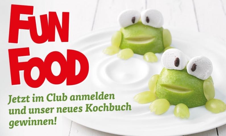Gewinne ein Fun Food Kochbuch!   Chefkoch.de