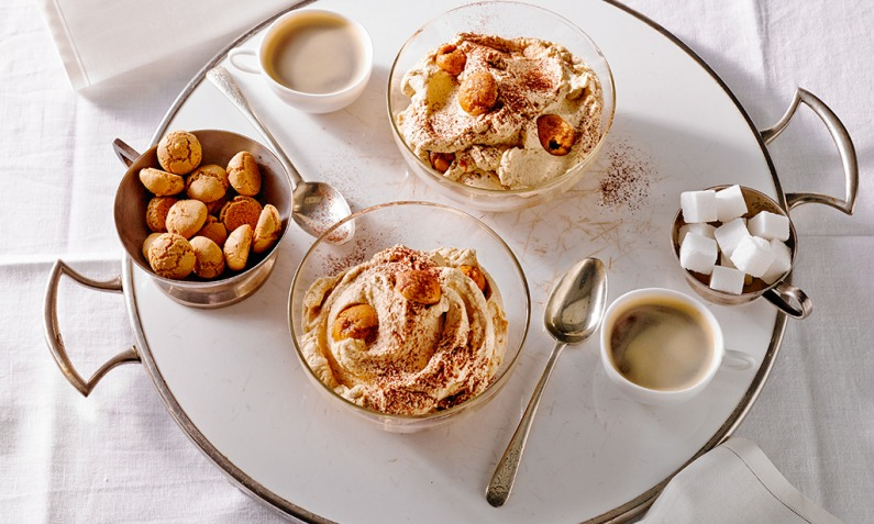 Mascarpone - Kaffeecreme mit Amaretti