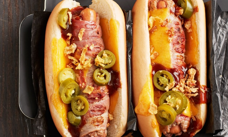 FastFood Bacon Burger Dog