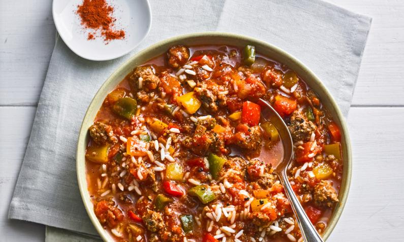 Ich glaub', es hackt – Eintöpfe & Suppen mit Hackfleisch
