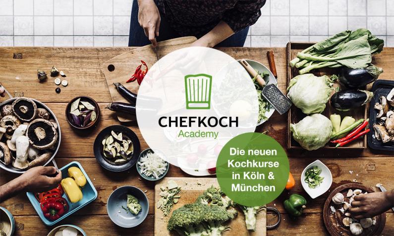 Chefkoch Academy - Die neuen Kochkurse in Köln & München