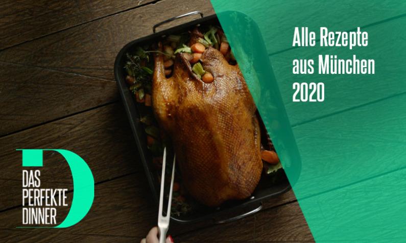 Das perfekte Dinner vom 14.04. - 17.04.2020 aus München