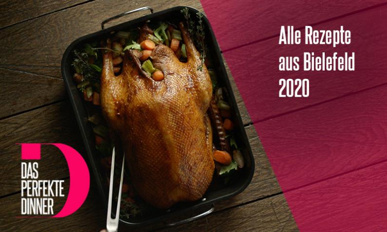 Das perfekte Dinner Rezepte aus Bielefeld 2020