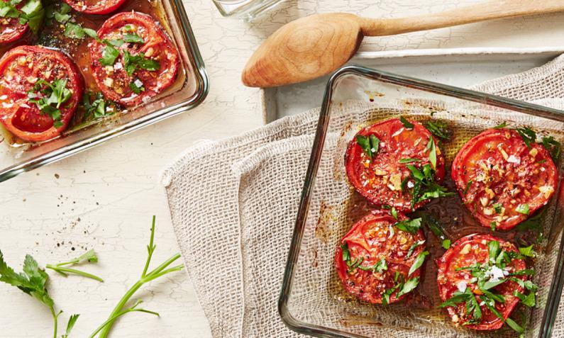 Geroestete Tomaten