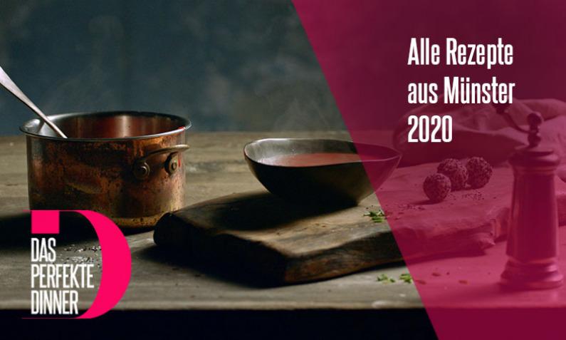 Das perfekte Dinner Rezepte aus Münster