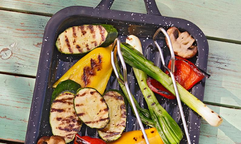 Vegetaisch grillen: Gemüse