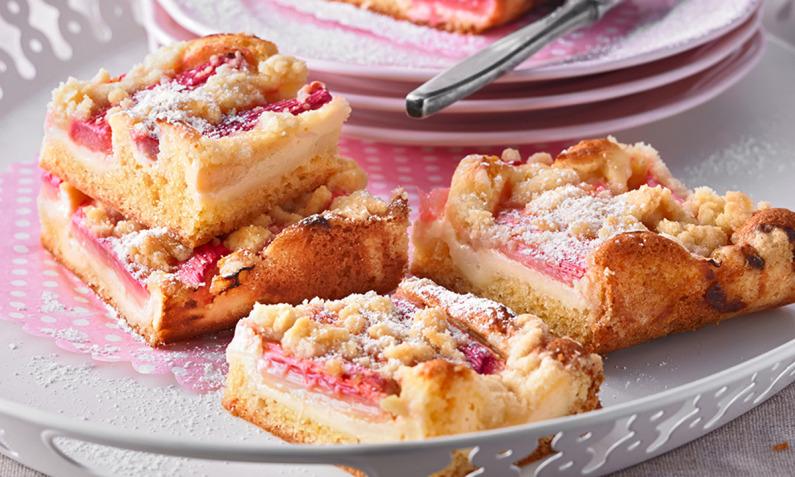Rezepte für Rhabarberkuchen