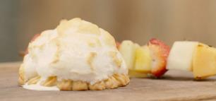 Oh yeah: Eisbombe vom Grill