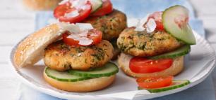 Veggie-Burger für alle!