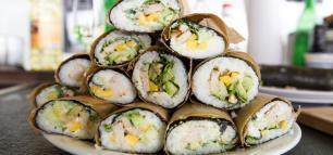Der neuste Trend: Sushi Burrito