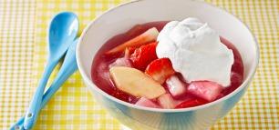 Erdbeeren & Rhabarber – das Dream-Team