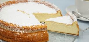 Herrlich cremig: Schneller Quarkkuchen