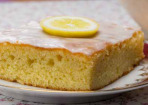 Zitronenkuchen geht immer!