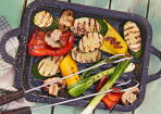 Vegetarisch grillen – von Gemüse bis Torte