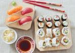 Selbstgemachtes Sushi für Genießer