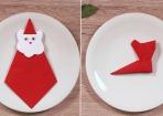 Cool: weihnachtliche Servietten