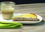 Mohnkuchen mit Vanillecreme